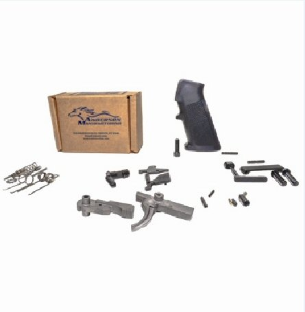 Anderson Lower Parts Kit Stainless Steel Trigger