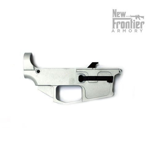 New Frontier 9mm/ 40 S&W raw 80% Lower Reciever - Free Shipping!